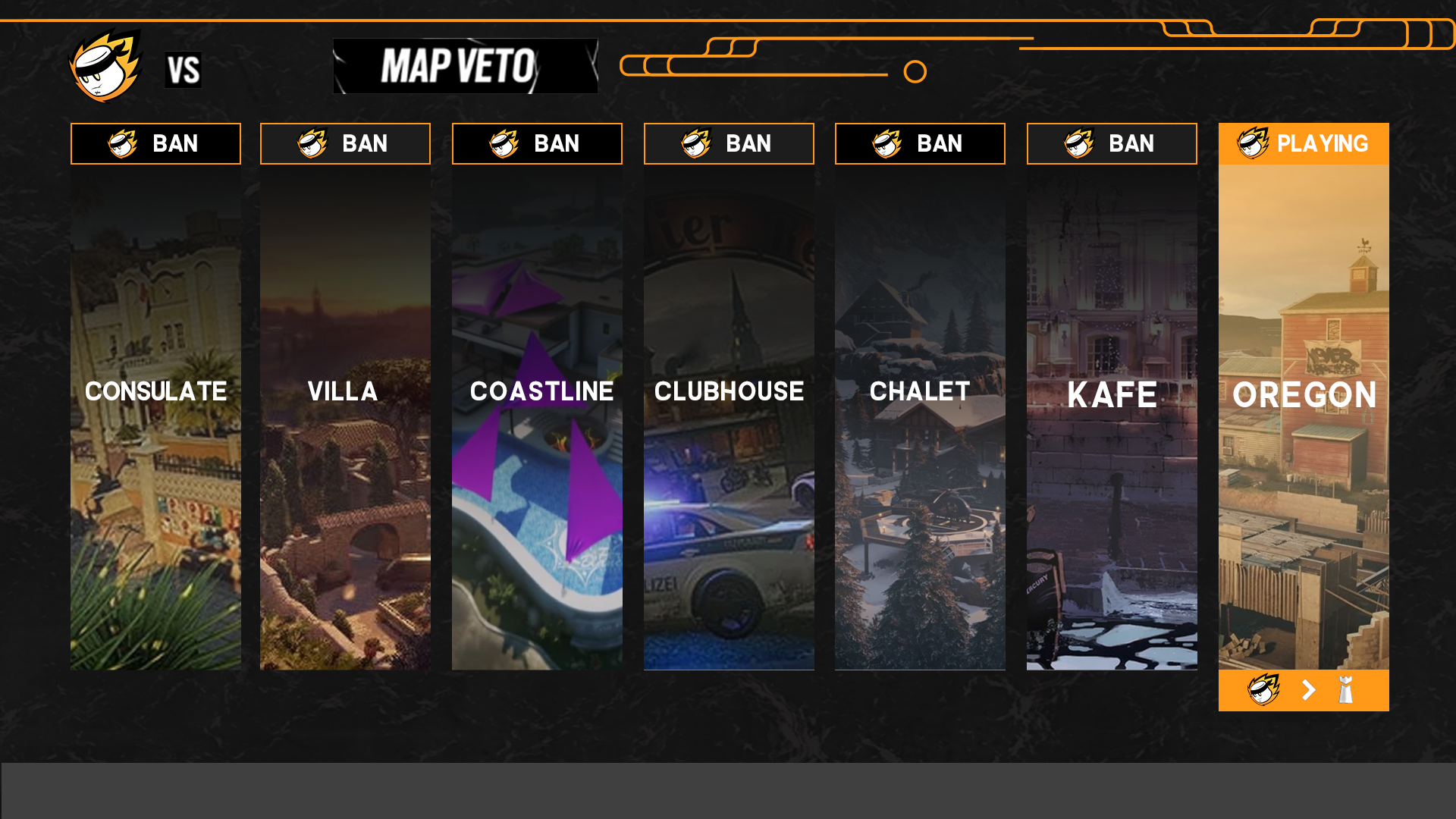 UKIN Competitive Map Pick and Ban Phase